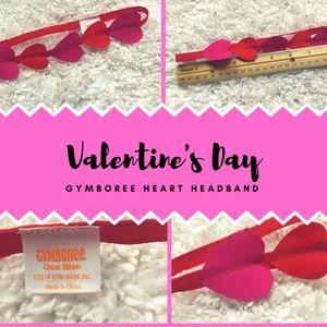 NWOT - GYMBOREE Valentine's Day Heart Headband
